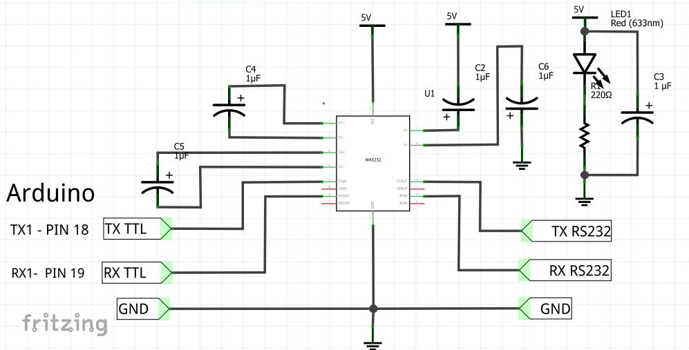 arduino slave modbus rtu  rs232